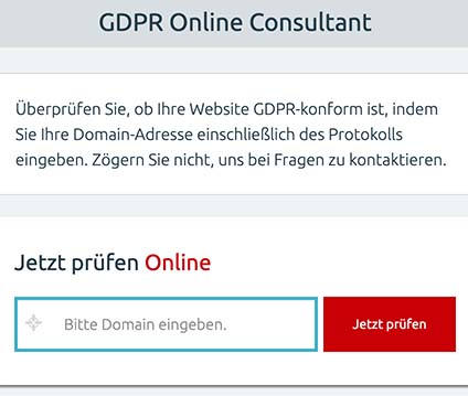 GDPR Online Consult